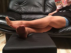 Stockings, Nylon, Mature nylons, Xhamster.com
