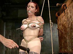Tied, Redhead, Machine tied up, Xhamster.com