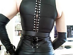 Leather, Lesbian leather, Xhamster.com