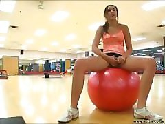 Girlfriend, Gym, Sexy gym ladies abuse male cfnm way, Pornhub.com