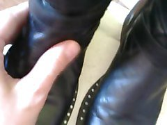 Boots, Leather, Leather dress, Xhamster.com