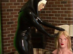 Rubber, Nun, Mask, Rubber mila, Xhamster.com