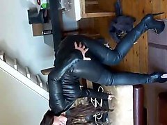 Boots, Leather, Leather lesbians, Xhamster.com