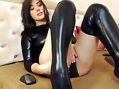 Leather, Stockings, Tera patrick boots leather latex, Xhamster.com
