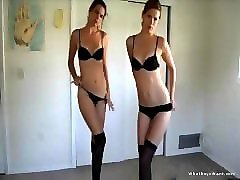 Twins, Strip, Twins oozing cum from pussies, Pornhub.com