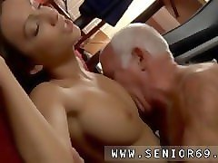 Teen, Old Man, Old man fucks young girl and cums inside her, Pornhub.com