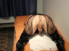 Crossdresser, Creampie, Dress, Crossdresser ass fucked firt time, Xhamster.com