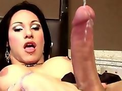 Babe, Bust babe gets two hard cocks, Pornhub.com